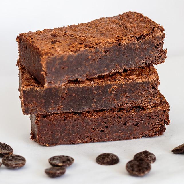 Brownies per post geleverd krijgen